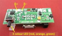 DIY solar panel battery charger control board
